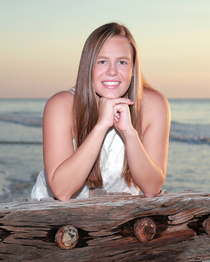 Senior Beach Portrait